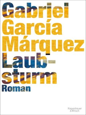 cover image of Laubsturm