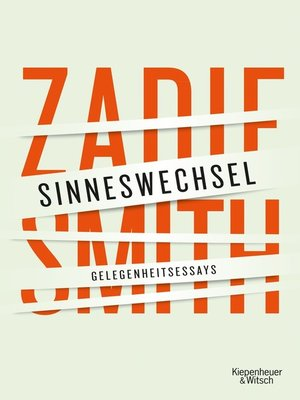 cover image of Sinneswechsel