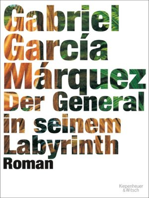 cover image of Der General in seinem Labyrinth