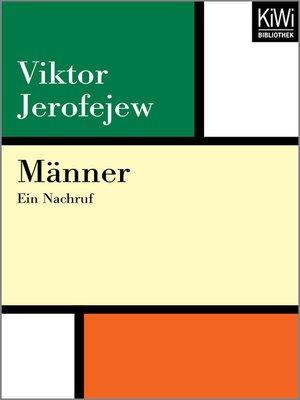 cover image of Männer