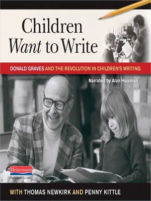 cover image of Children Want to Write