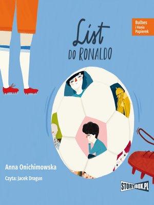 cover image of Bulbes i Hania Papierek. List do Ronaldo