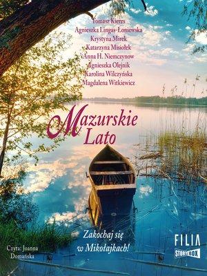 cover image of Mazurskie Lato