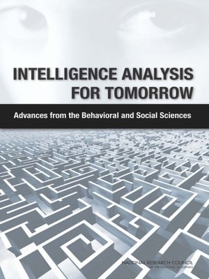cover image of Intelligence Analysis for Tomorrow
