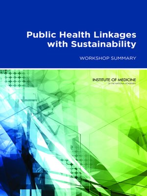 cover image of Public Health Linkages with Sustainability