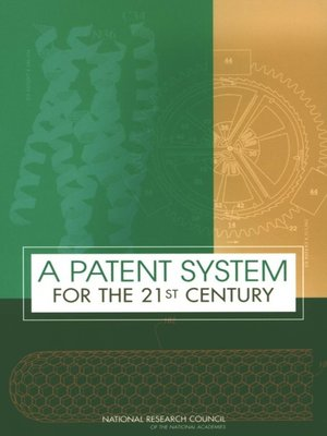 cover image of A Patent System for the 21st Century
