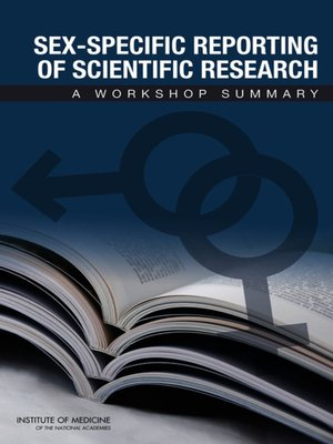 cover image of Sex-Specific Reporting of Scientific Research