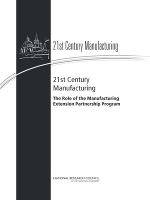 cover image of 21st Century Manufacturing