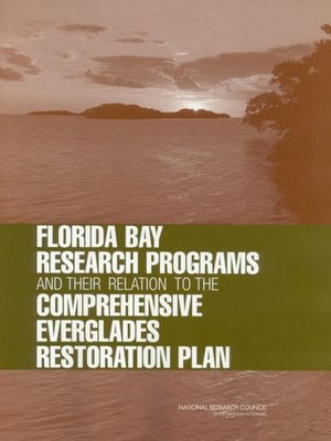 cover image of Florida Bay Research Programs and Their Relation to the Comprehensive Everglades Restoration Plan