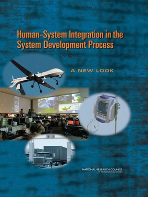 cover image of Human-System Integration in the System Development Process