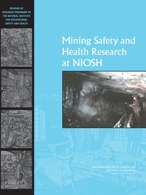 cover image of Mining Safety and Health Research at NIOSH