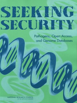 cover image of Seeking Security