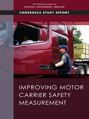 cover image of Improving Motor Carrier Safety Measurement