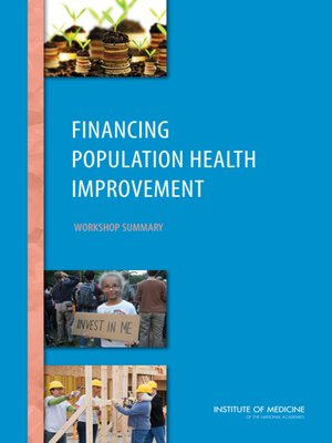 cover image of Financing Population Health Improvement