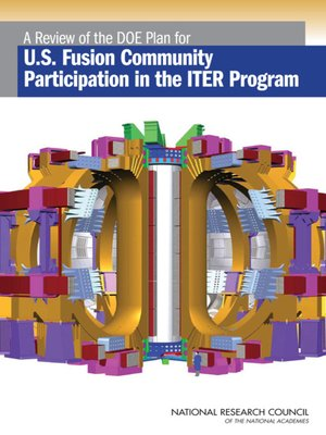 cover image of A Review of the DOE Plan for U.S. Fusion Community Participation in the ITER Program