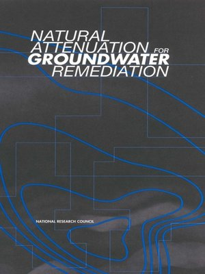 cover image of Natural Attenuation for Groundwater Remediation