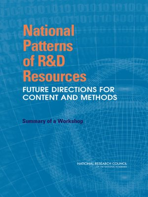 cover image of National Patterns of R&D Resources