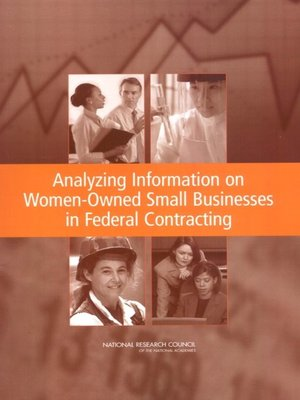cover image of Analyzing Information on Women-Owned Small Businesses in Federal Contracting