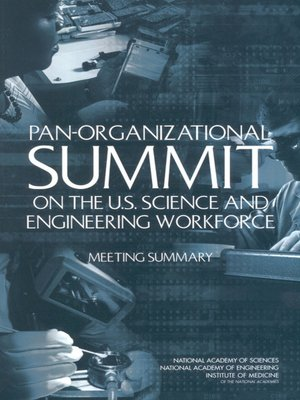 cover image of Pan-Organizational Summit on the U.S. Science and Engineering Workforce