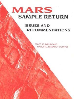 cover image of Mars Sample Return