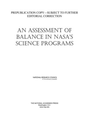 cover image of An Assessment of Balance in NASA's Science Programs