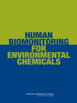 cover image of Human Biomonitoring for Environmental Chemicals