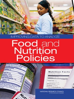 cover image of Improving Data to Analyze Food and Nutrition Policies