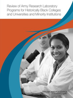 cover image of Review of Army Research Laboratory Programs for Historically Black Colleges and Universities and Minority Institutions