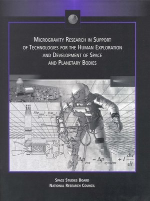 cover image of Microgravity Research in Support of Technologies for the Human Exploration and Development of Space and Planetary Bodies