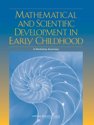cover image of Mathematical and Scientific Development in Early Childhood