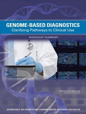 cover image of Genome-Based Diagnostics
