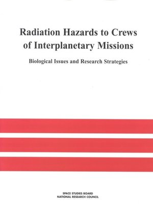 cover image of Radiation Hazards to Crews of Interplanetary Missions
