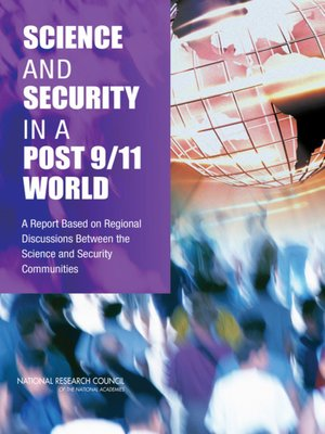 cover image of Science and Security in a Post 9/11 World