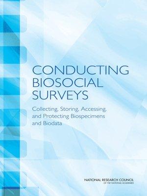 cover image of Conducting Biosocial Surveys