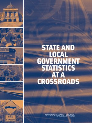 cover image of State and Local Government Statistics at a Crossroads