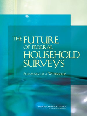 cover image of The Future of Federal Household Surveys