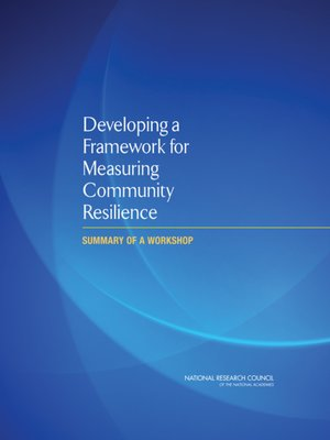 cover image of Developing a Framework for Measuring Community Resilience