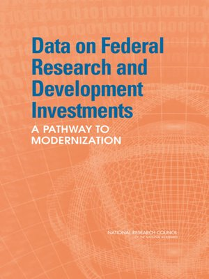 cover image of Data on Federal Research and Development Investments