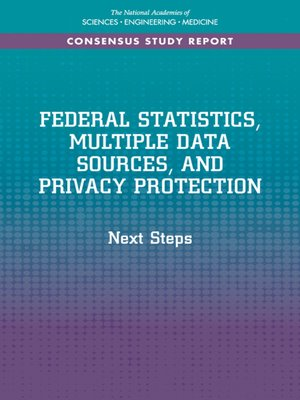 cover image of Federal Statistics, Multiple Data Sources, and Privacy Protection