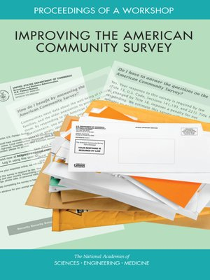 cover image of Improving the American Community Survey