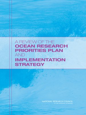 cover image of A Review of the Ocean Research Priorities Plan and Implementation Strategy