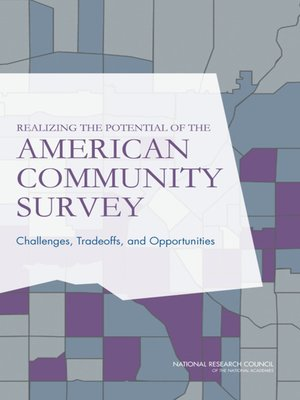 cover image of Realizing the Potential of the American Community Survey