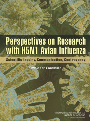 cover image of Perspectives on Research with H5N1 Avian Influenza