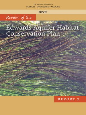 cover image of Review of the Edwards Aquifer Habitat Conservation Plan
