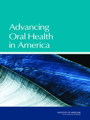 cover image of Advancing Oral Health in America
