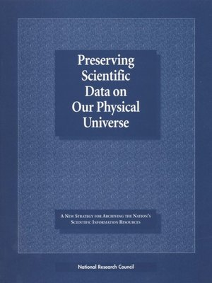 cover image of Preserving Scientific Data on Our Physical Universe