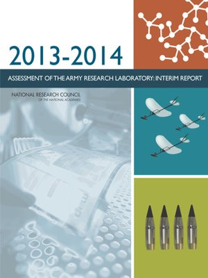 cover image of 2013-2014 Assessment of the Army Research Laboratory