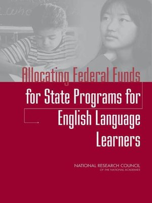 cover image of Allocating Federal Funds for State Programs for English Language Learners