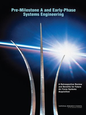 cover image of Pre-Milestone a and Early-Phase Systems Engineering