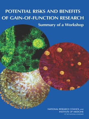 cover image of Potential Risks and Benefits of Gain-of-Function Research
